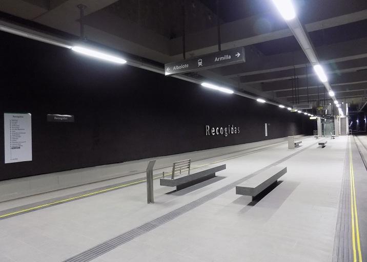 Estación subterránea de Recogidas.
