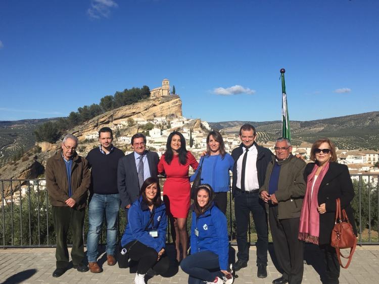 El director de la publicación en España ha asistido al acto, presidido por la alcaldesa y el presidente de la Diputación.