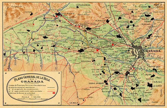Plano de la Vega, 1911-1916.