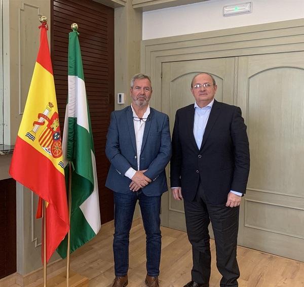 José García Fuentes y Víctor Gamero.