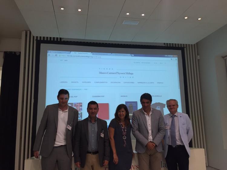 La tienda online se ha presentado este martes en el Thyssen de Málaga.