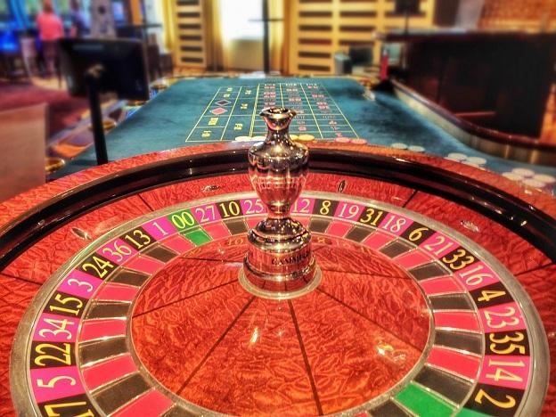 Ruleta de un casino.