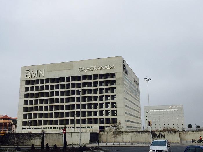 Sede ya de Bankia en Granada.