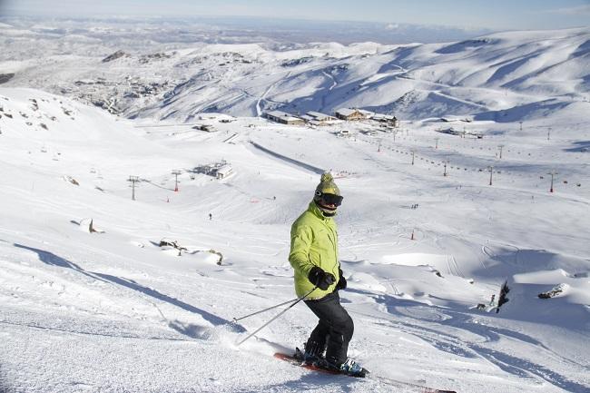 Sierra Nevada ha alcanzado los 70 kilómetros esquiables.