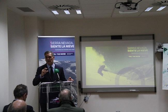 Jesús Ibáñez, en la presentación de la temporada en Madrid.