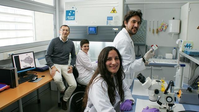 Parte del equipo científico que ha participado en la investigación.