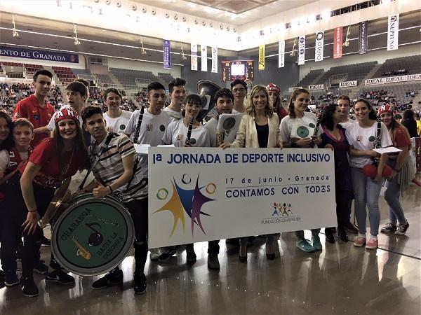 El Palacio de Deportes ha acogido la primera jornada de Deporte Inclusivo.