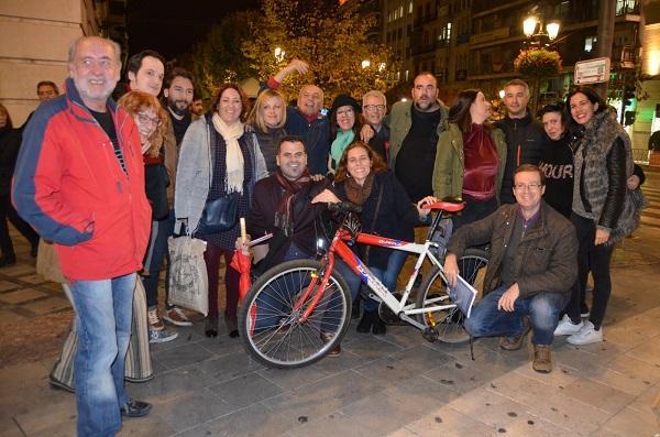 En Granada han elegido Puerta Real para su presentación.