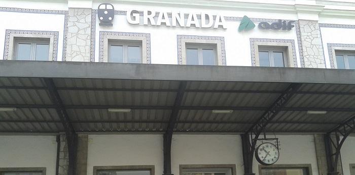 Detalle de la estación de Granada.