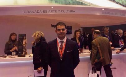 El alcalde de Algarinejo en una foto de facebook.