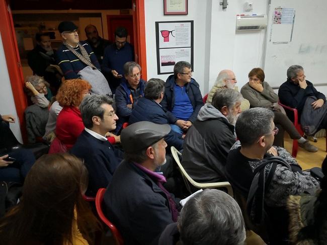 A la reunión asistieron, entre otros, Antonio Cambril y Francisco Puentedura.
