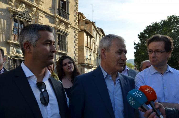 Julio Bernardo, en abril de 2017, cuando se celebró el juicio en Granada.