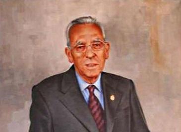 Retrato de Antonio Camacho en la galería de alcaldes del Ayuntamiento de Granada.