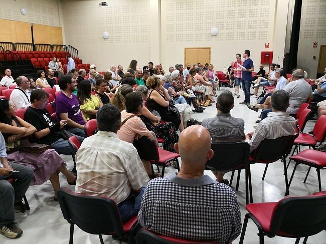 Imagen del encuentro celebrado este martes.