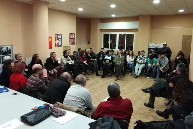 Imagen de una reunión de Granada se Encuentra.