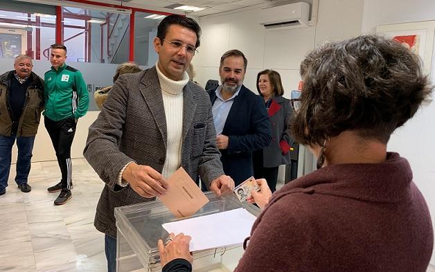 Cuenca deposita su voto.