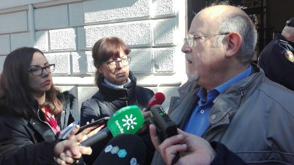 Luis de Haro-Rossi este martes en su comparecencia ante los medios.