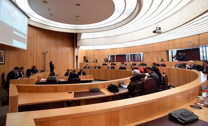 Pleno de diciembre de la institución provincial.