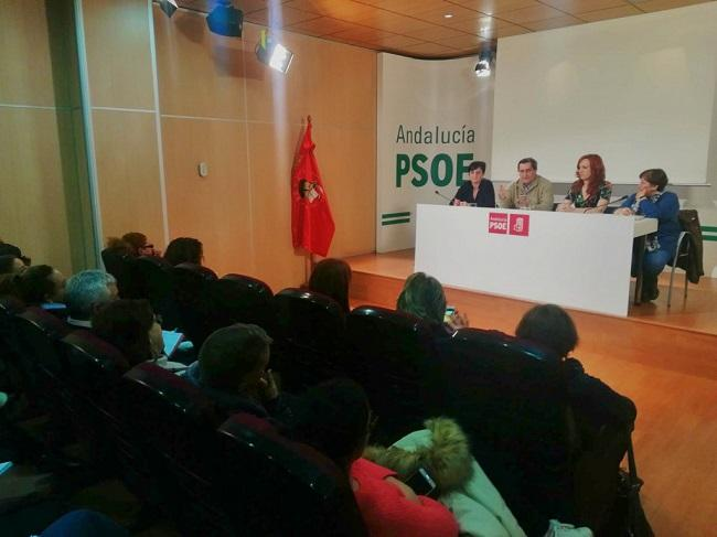 Reunión del Consejo Provincial de Igualdad de los socialistas.