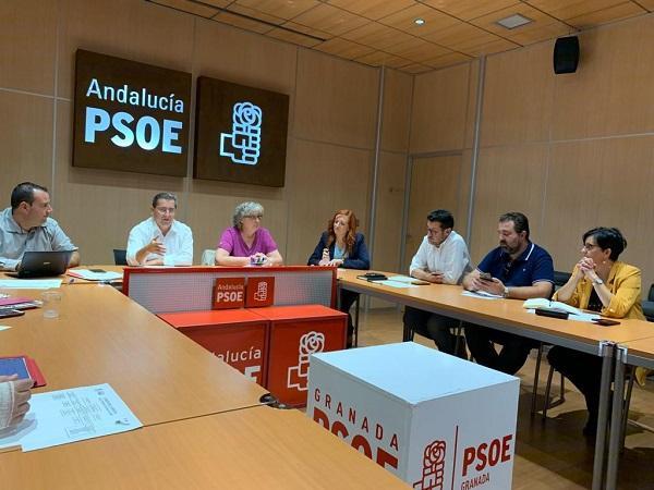 Reunión de la Comisión Ejecutiva Provincial de los socialistas.