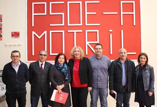 Los socialistas han analizado este lunes en Motril los Presupuestos del Estado.