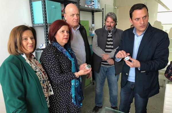 Elvira Ramón, acompañada por parlamentarios socialistas, ha visitado Padul.