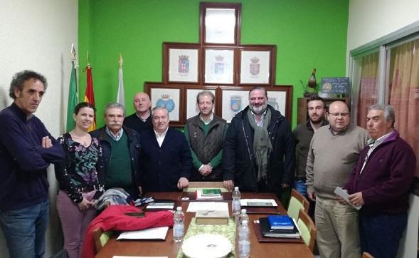 Reunión con miembros de la Federación de Caza.