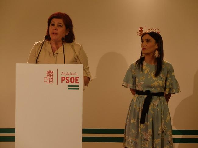 Elvira Ramón y Olga Manzano.