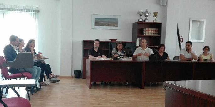 Pinilla ha asistido este jueves al pleno del Ayuntamiento de Huétor Tájar.