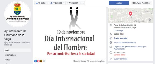 Imagen del facebook del Ayuntamiento de Churriana difundida por el PSOE.