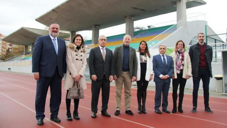El consejero Imbroda, este viernes en Granada, en la presentación del proyecto 'Todos olímpicos'.
