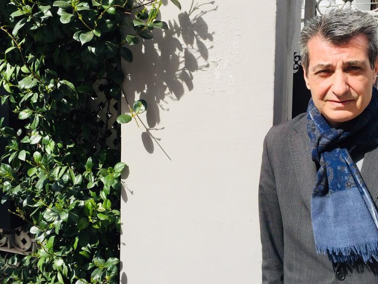 Antonio Cambril, candidato de Unidas Podemos a la Alcaldía de Granada.
