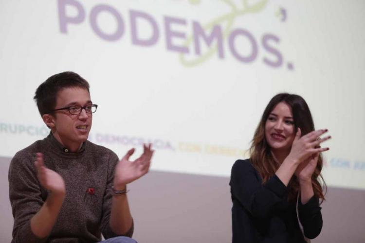 Íñigo Errejón y Ana Terrón.