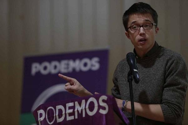 Íñigo Errejón, en una imagen de archivo en un acto en Granada.