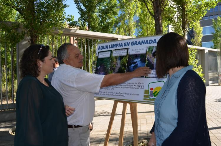 IU ha denunciado la deficiente depuración de aguas en la provincia.