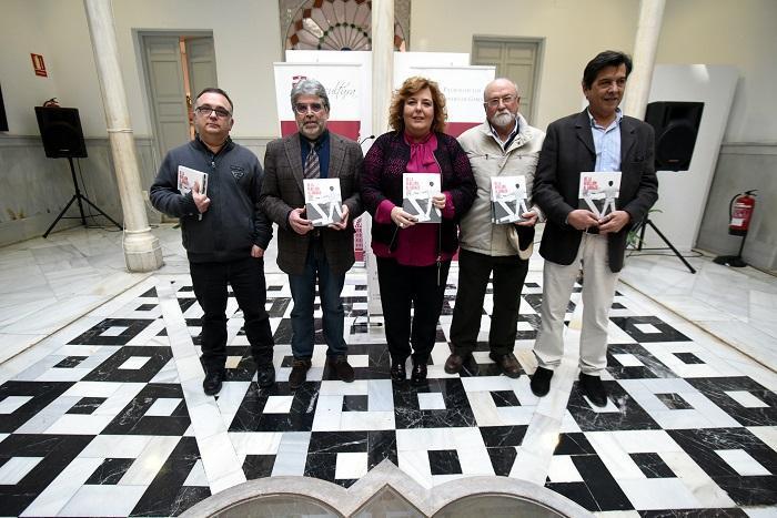 Fátima Gómez en la presentación de un libro sobre las Jornadas de Memoria Histórica.