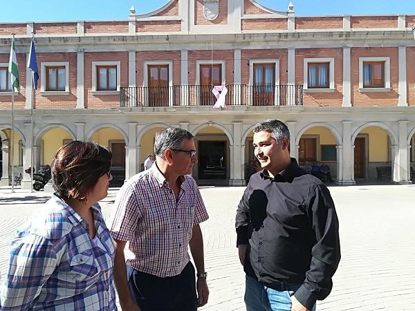 Lidia Milena, José González y Juan Francisco Arenas.