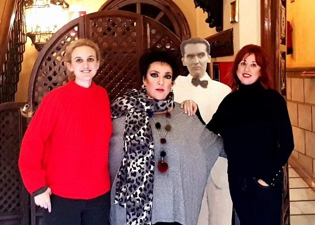 Tasia Aránguez Sánchez, María Martín Romero y Elisa Roldán Peña.