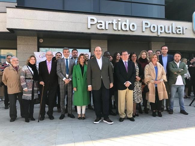 La candidatura del PP de Granada al Ayuntamiento.