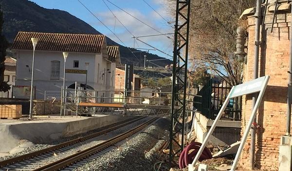 Imagen de la Estación de San Francisco de Loja tomada este mes de febrero.
