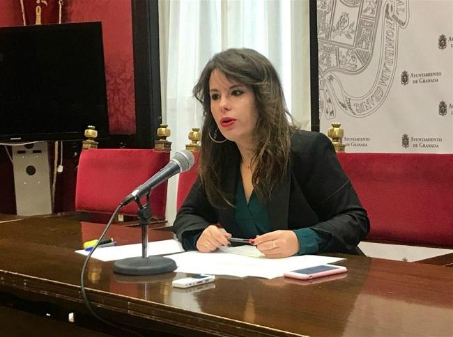 La concejala de Ciudadanos Lorena Rodríguez.