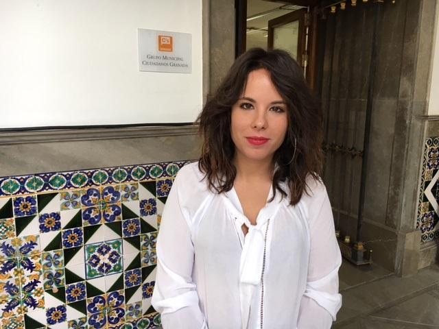 Lorena Rodríguez, concejala de Ciudadanos.