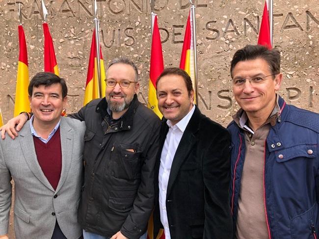 Luis Salvador, este domingo en Colón.