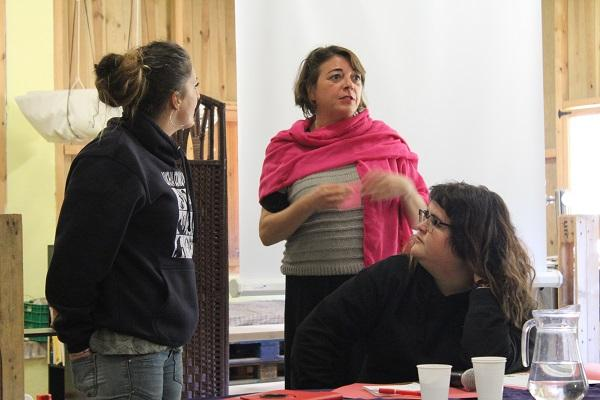 Elena Cortés fue una de las participantes en las jornadas.