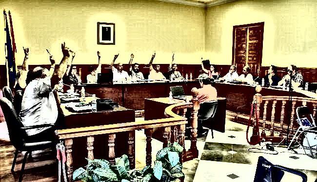Pleno del Ayuntamiento de Atarfe.