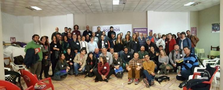 Reunión celebrada este sábado en Atarfe.