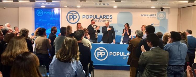Sebastián Pérez agradece el apoyo en la última ejecutiva provincial.
