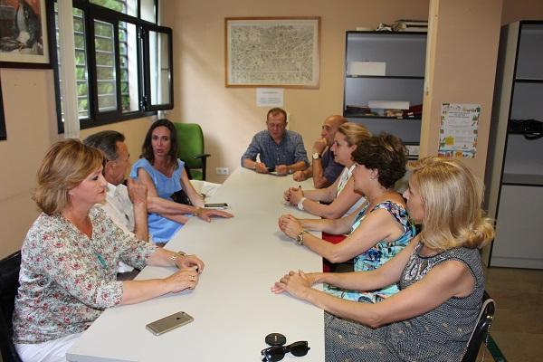 Reunión del PP con la Federación vecinal.