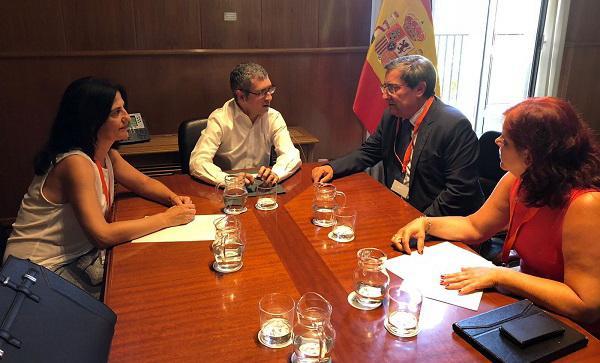 Un momento de la reunión celebrada en Madrid.