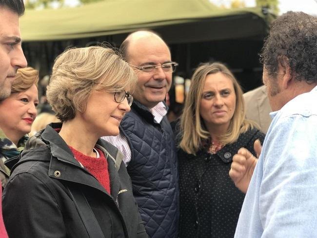 Isabel García Tejerina, Sebastián Pérez y Marifrán Carazo.